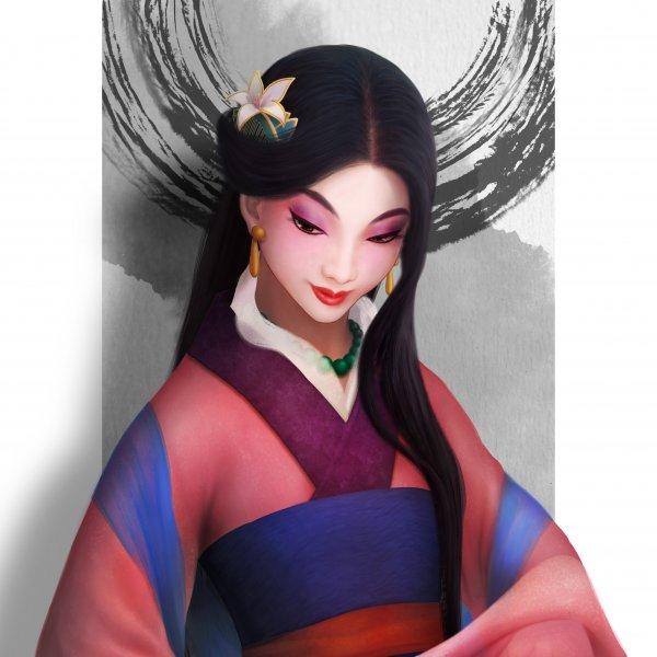 花木蘭/Disneyprincess Mulan(另有上衣、馬克杯)