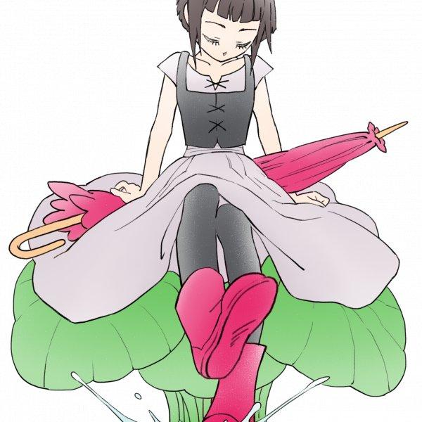 世界之外的紅靴女孩:我有一雙紅靴子