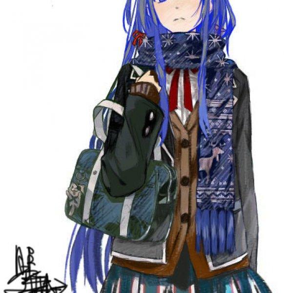 冬季高中生