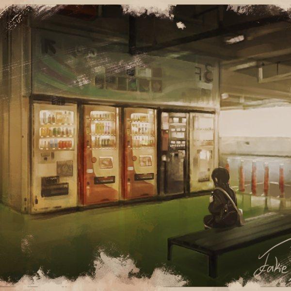 【Digital Painting + 素材】Umihotaru