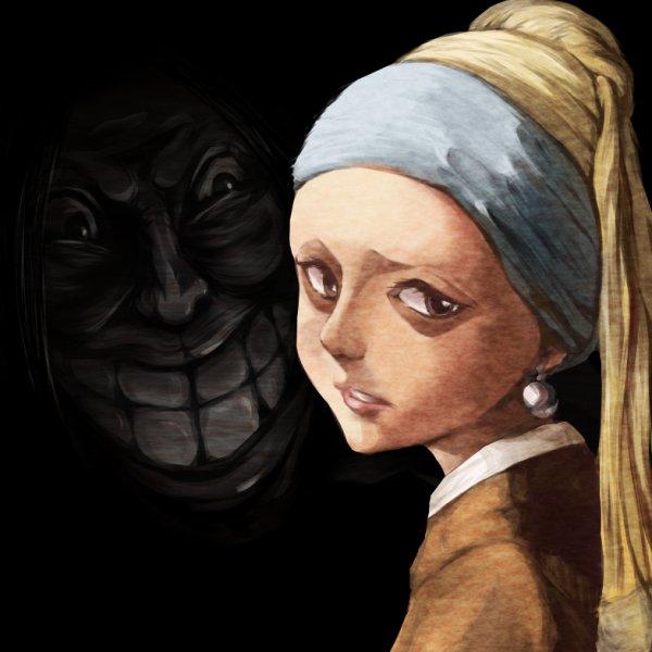戴珍珠耳環少女的恐懼