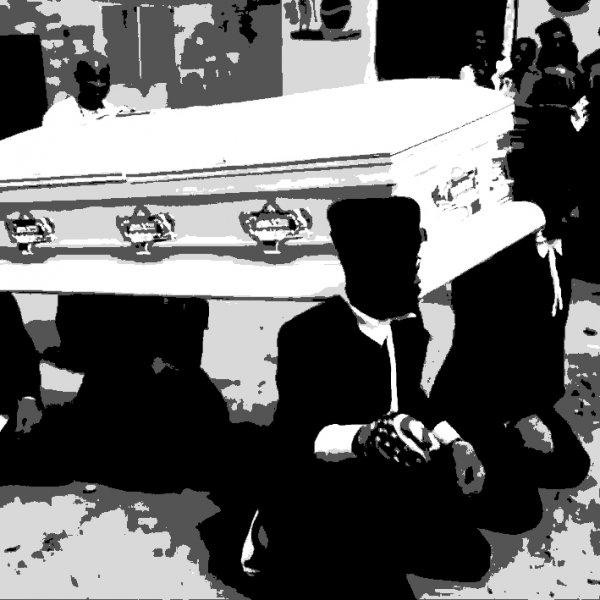 黑人抬棺材