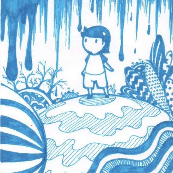 【奇異筆繪.藍色】