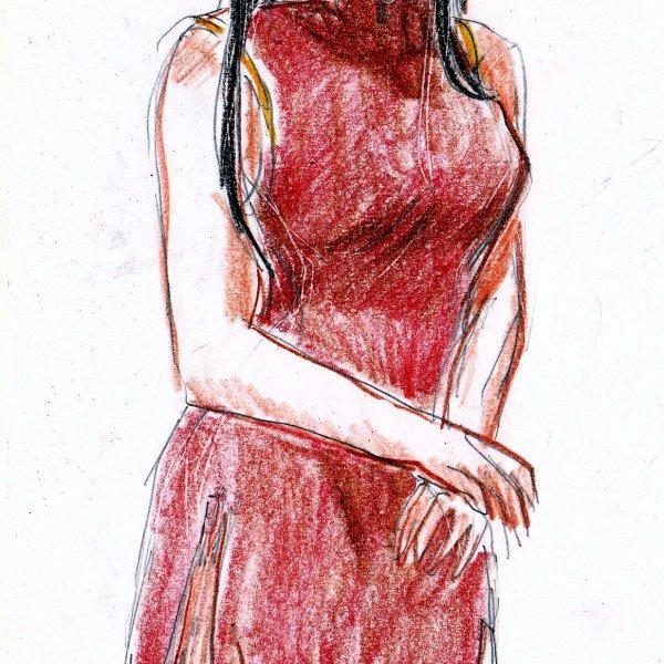 破爛的旗袍