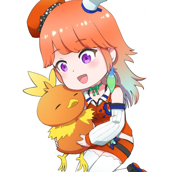 Kiara and Torchic