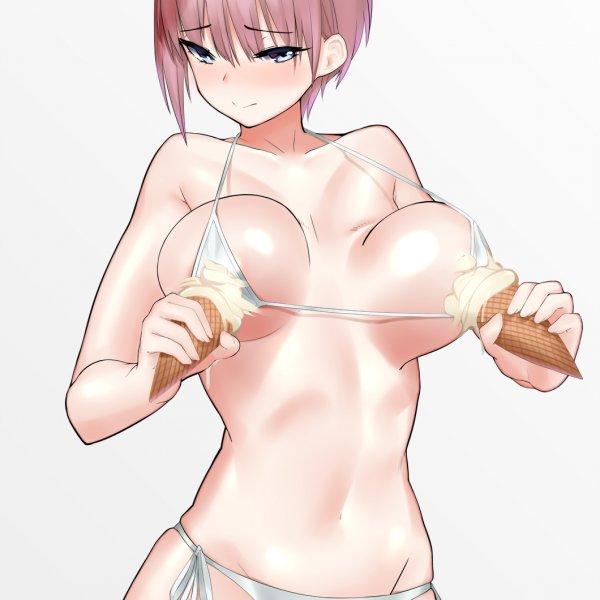 最愛吃一花的冰淇淋~