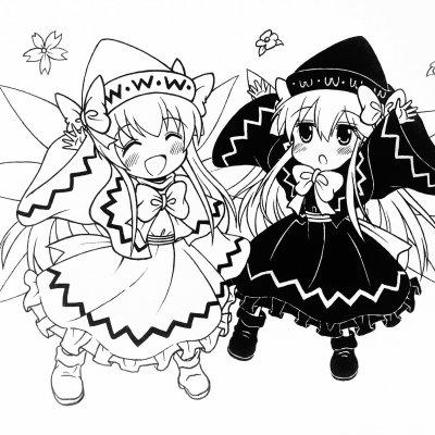 【東方】莉莉白&莉莉黑