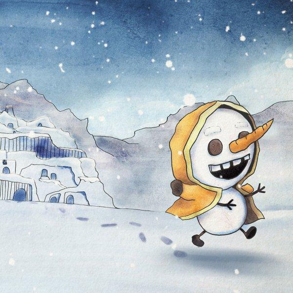 讓我吃雪吧! Let me Eat Snow! 插圖